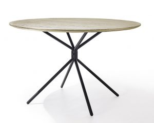 String Dining Table Nat / Blk