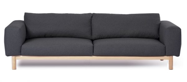 Sigh 4 Seat Sofa Charcoal