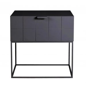 Trace Bedside Table Anthracite