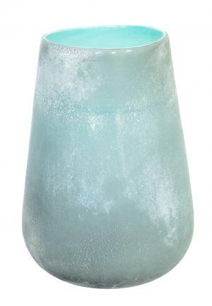 Forme Vase Large Aquamarine