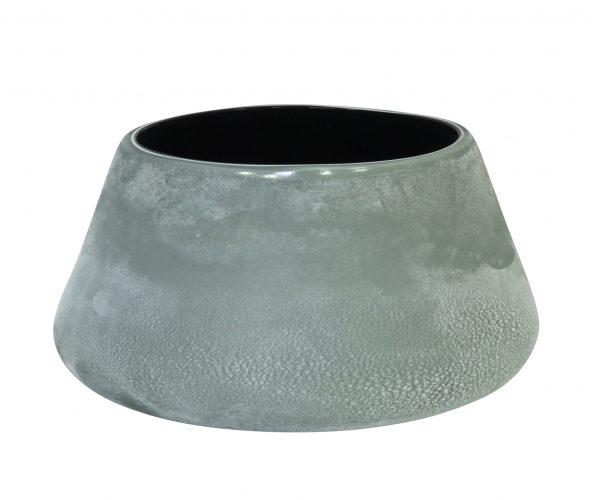 Forme Vase Low Black