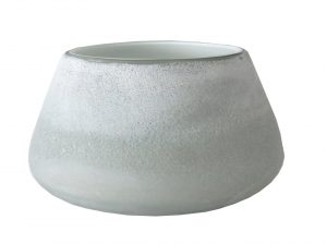 Forme Vase Low Pale Grey