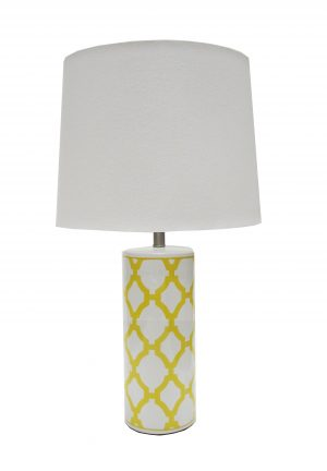 Audrey Lamp Yellow