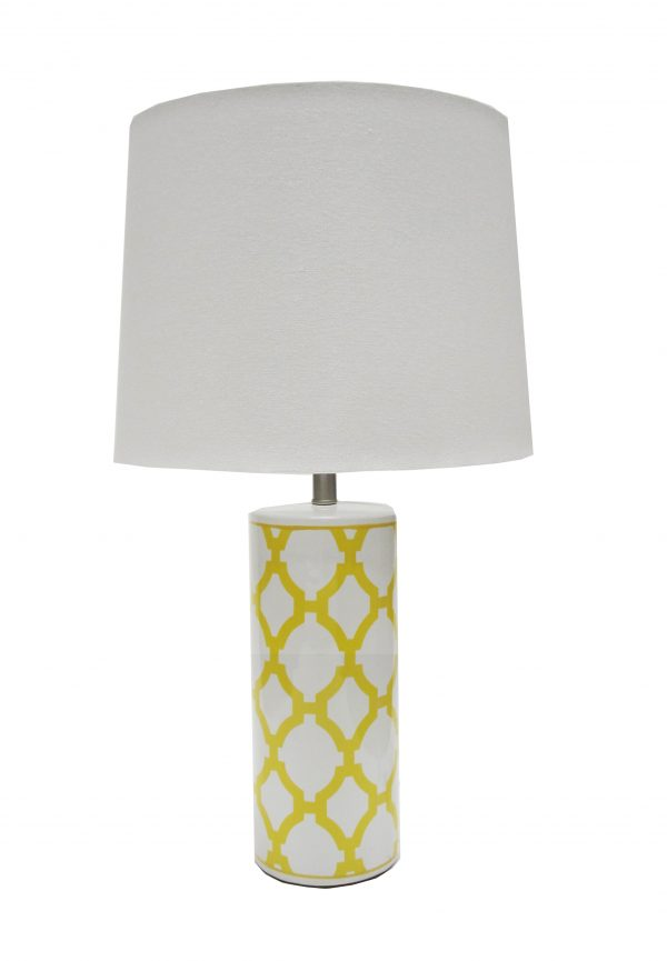 Audrey Lamp Yellow