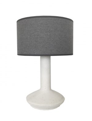 Darus Lamp Chalk / Charcoal Marle