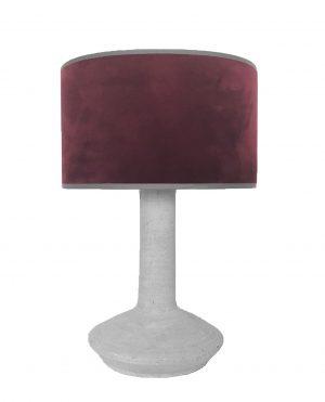 Darus Lamp Grey / Pinot Velvet