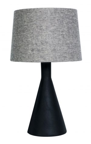 Edge Lamp Tall Black