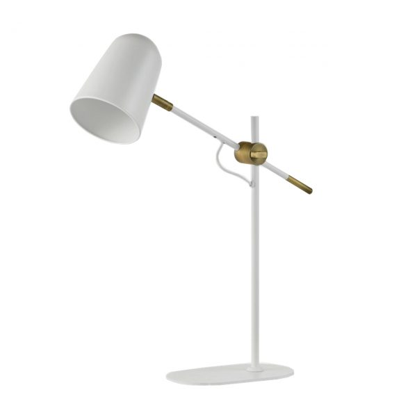 Harry Table Lamp White