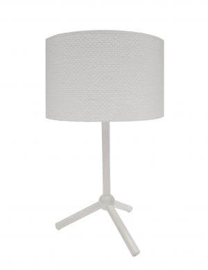 Jacob Table Lamp White