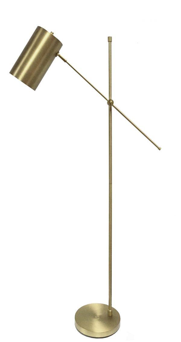 Meme Floor Lamp Brass
