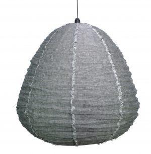 Nendo Pendant Large Charcoal Marle