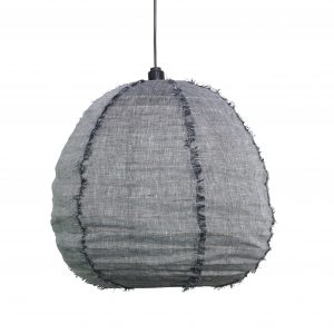 Nendo Pendant Small Charcoal