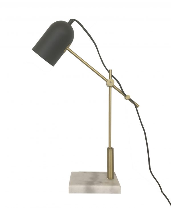 Parish Table Lamp Brass / Black