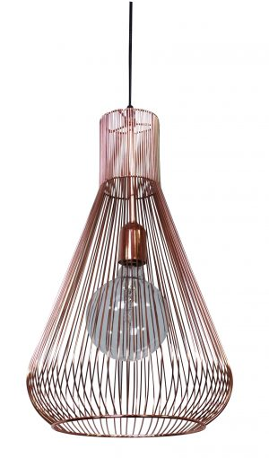Quasar Pendant Lamp Copper