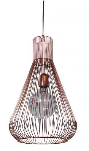 Quasar Pendant Lamp Copper