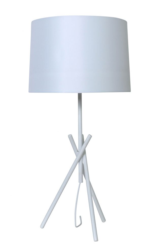 Quantum Table Lamp White