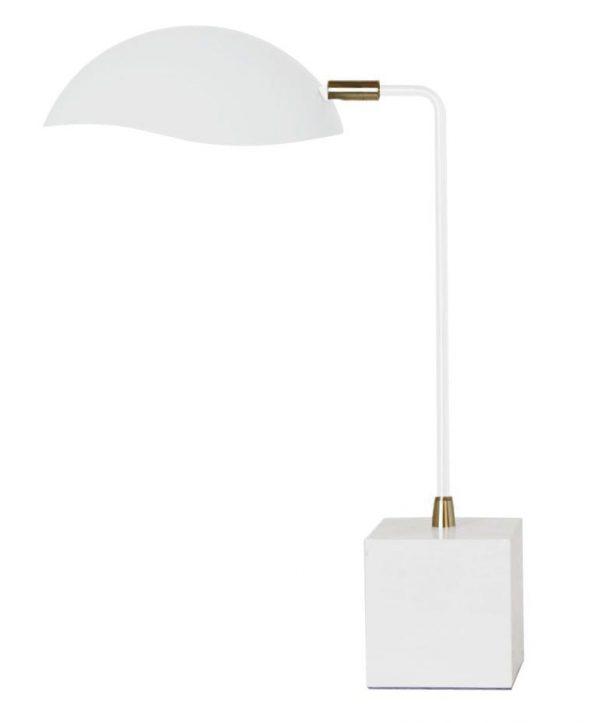 Serge Lamp White