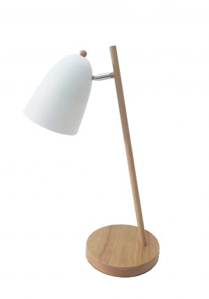 Poppy Table Lamp White