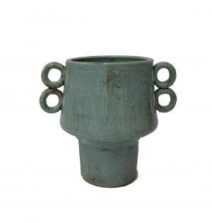 Aporto Vase Small Aqua