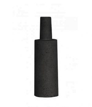 Esher Angle Bottle Large Black