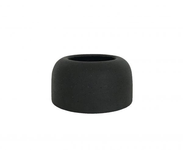 Silo Vase Small Black