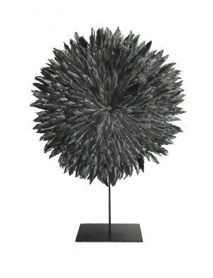 Zambezi Feather Disc Small Coal