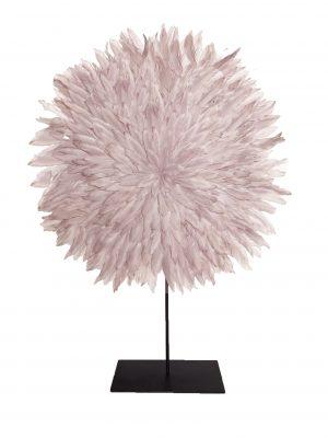Zambezi Feather Disc Small Shell Pink