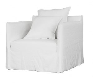 Casper Armchair Winter White