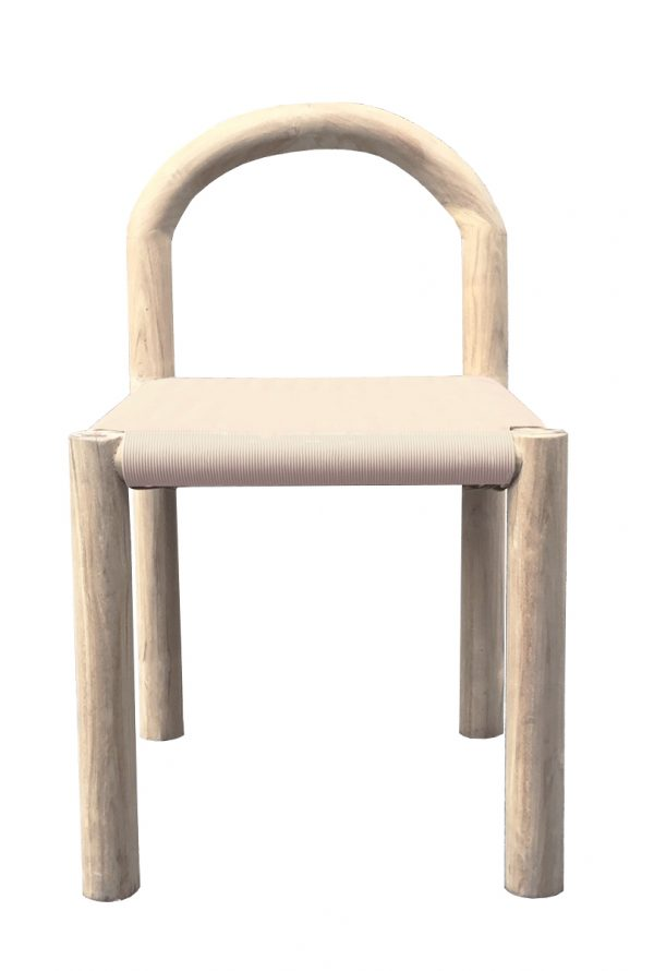 Bow Dining Chair Nude