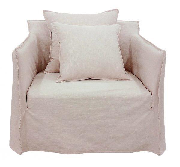 Casper Armchair Tawny Pink
