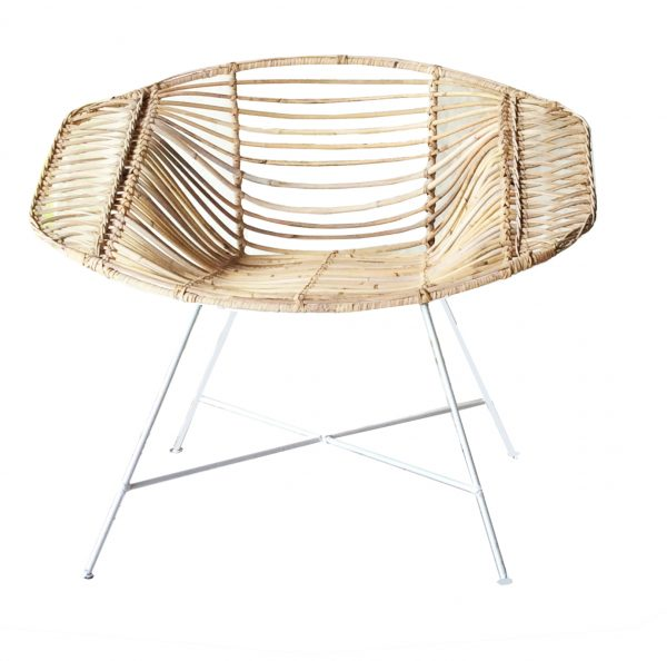 Vox Chair Natural / White