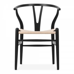 Wishbone Chair Black / Natural
