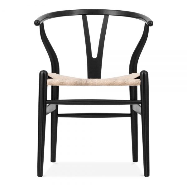 Wishbone Chair Black / Natural