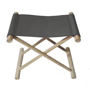 Favela Folding Stool Black