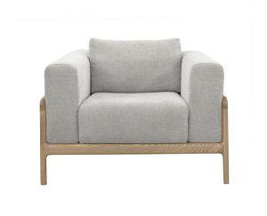 Gustav Chair Pale Grey Marle