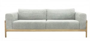 Gustav Sofa Pale Grey Marle