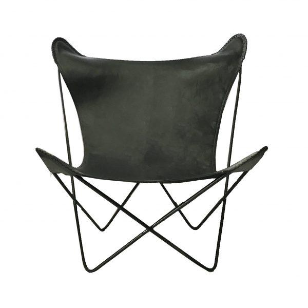 Hermann Butterfly Chair Black