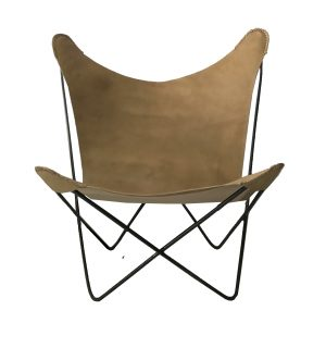 Hermann Butterfly Chair Caramel