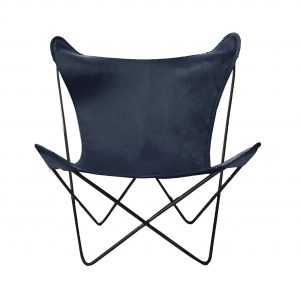 Hermann Butterfly Chair Charcoal Grey