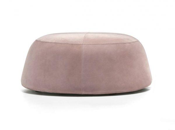 Pippa Velvet Ottoman Large Dusty Pink