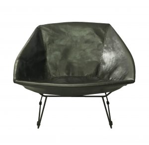 Saul Chair Black Leather