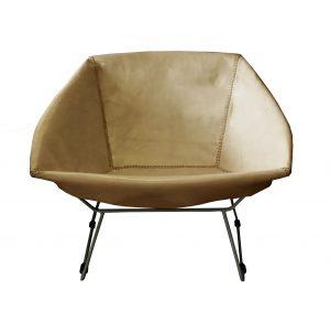 Saul Chair Caramel Leather