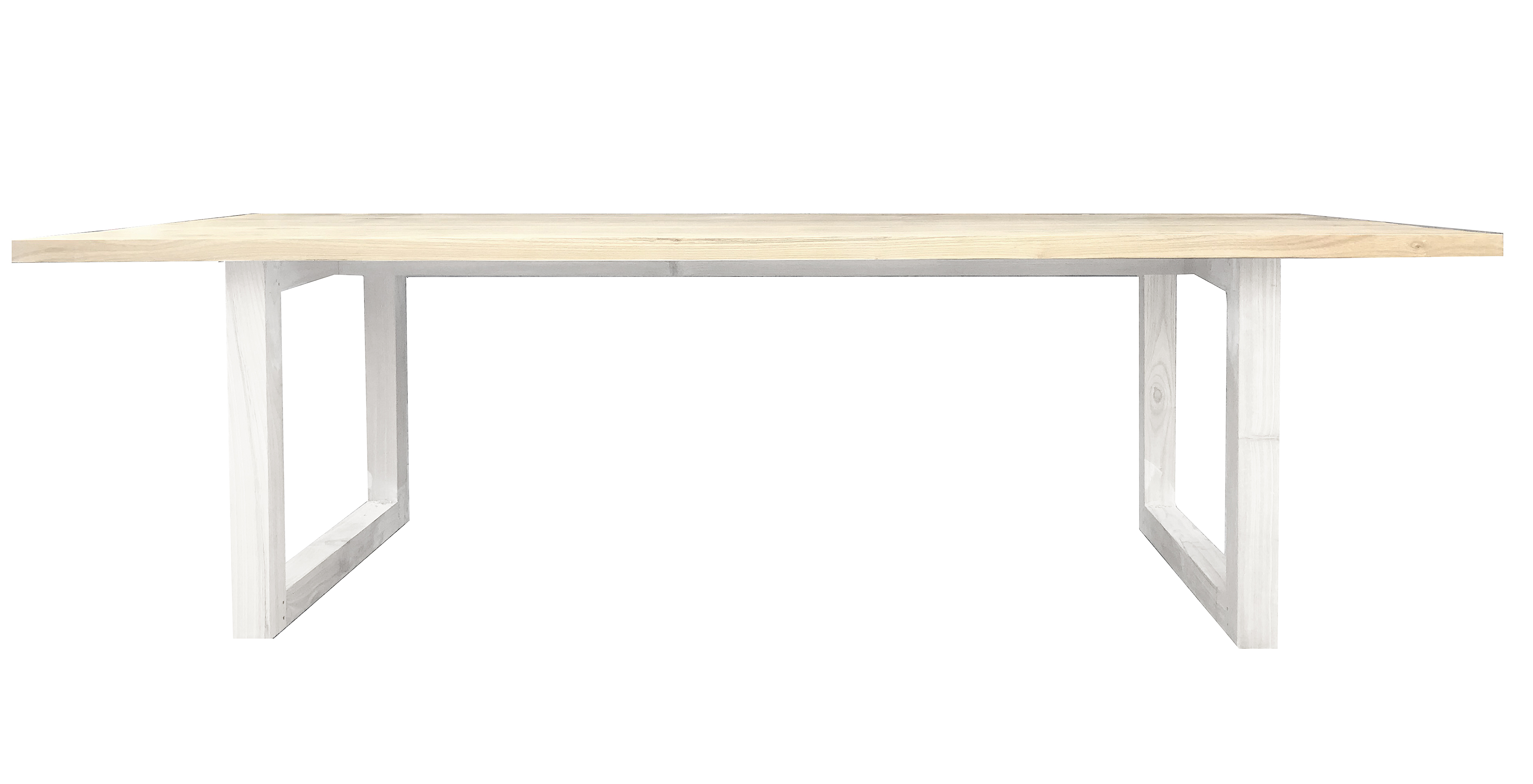 Picture of: Terence Rectangle Dining Table White Legs Mrd Home